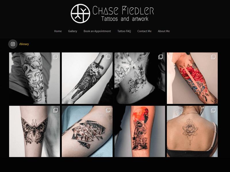 Chase Fiedler Tattoo Portfolio